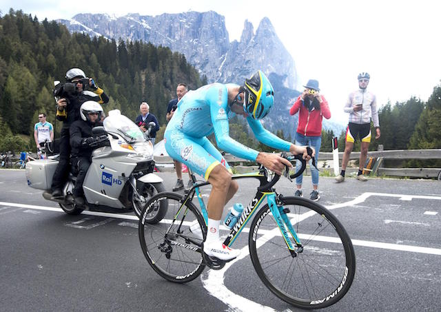 Giro d'Italia 2016: the 15th stage