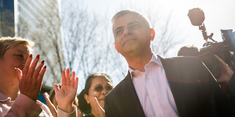 Sadiq Khan Presents London Labour's Campaign Adverts Ahead Mayoral Vote