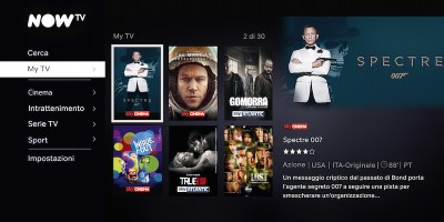 Cos'è Now TV, il nuovo streaming di Sky