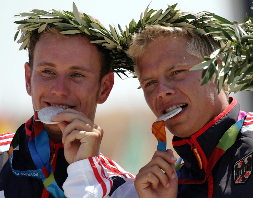 Olympic silver medalists Marcus Becker a