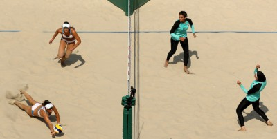 Beach volley e hijab, parliamone