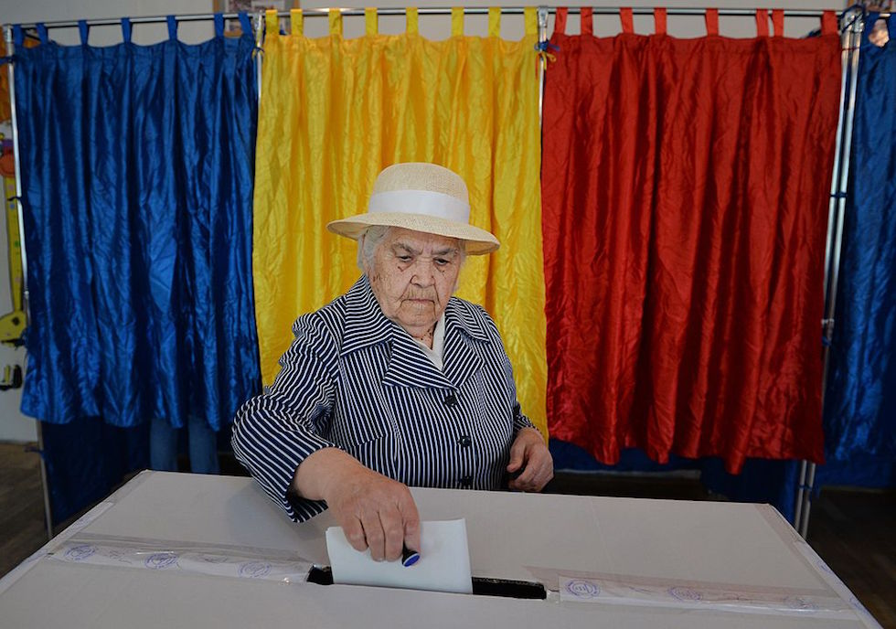 ROMANIA-EU-VOTE