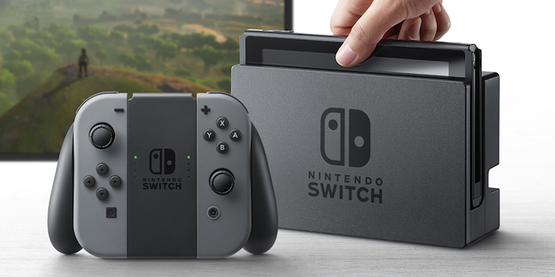 Come è fatta Nintendo Switch