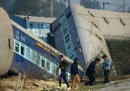 Le foto dell'incidente ferroviario in India