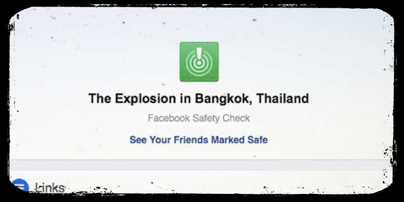 Una bufala ha attivato il Safety Check di Facebook a Bangkok