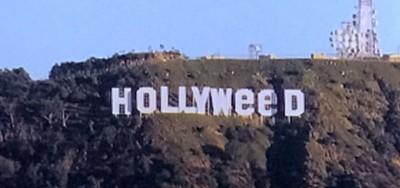 """Qualcuno ha modificato la famosa scritta """"Hollywood"""""""