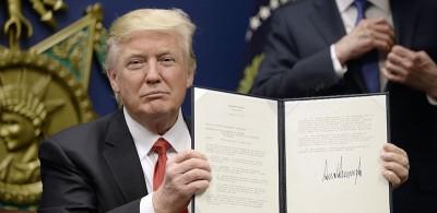 Trump comincia a vietare gli ingressi