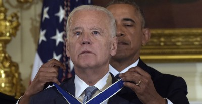 Obama ha fatto una sorpresa a Biden