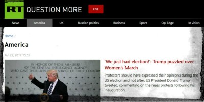Russia Today non ha molto successo
