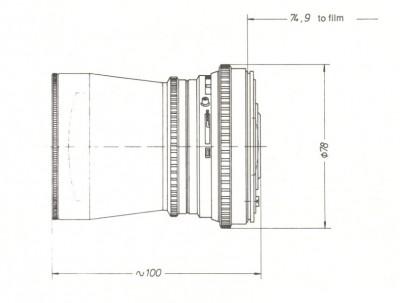 Schema 50mm Distagon