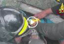 I video delle persone salvate dall'Hotel Rigopiano