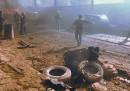 L'autobomba esplosa ad Azaz, in Siria
