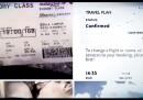 Meglio non condividere la foto del vostro biglietto aereo