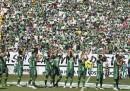 Le immagini della prima partita del Chapecoense dopo l'incidente aereo