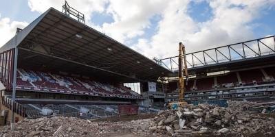 Le foto della demolizione dell'Upton Park