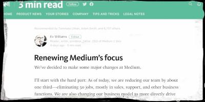 Cosa succede a Medium