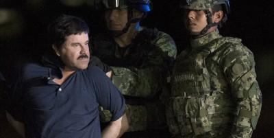 """""""El Chapo"""" è stato estradato negli Stati Uniti"""