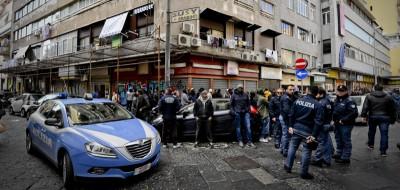 La sparatoria a Napoli