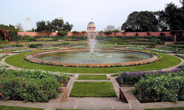 Picture of The Mughal Garden at Rashtrap