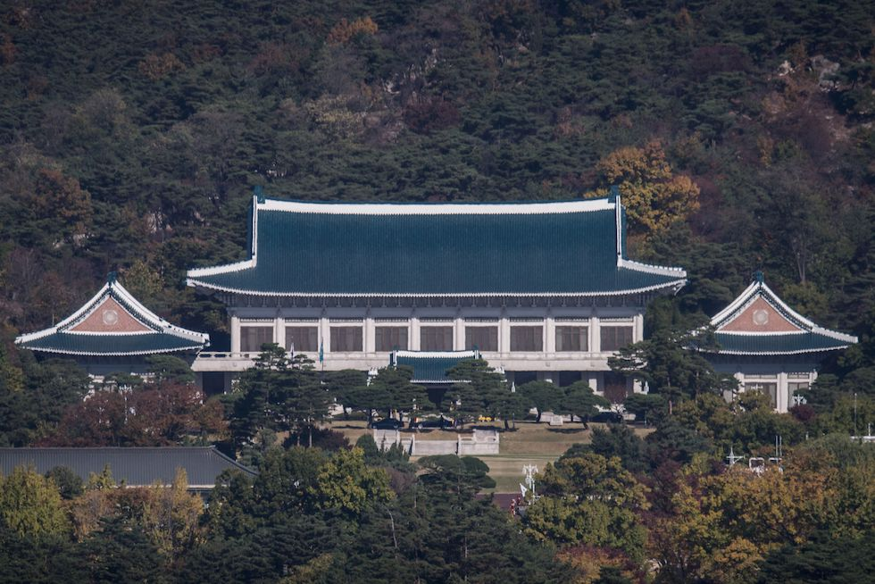 palazzo presidenziale corea sud