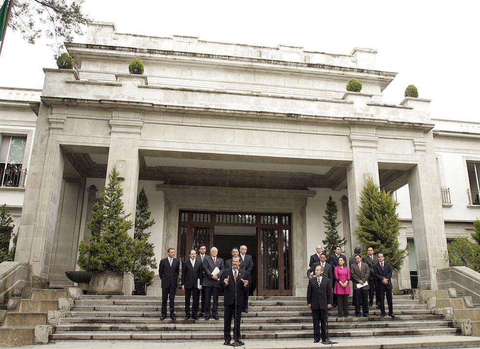 palazzo presidenziale messico