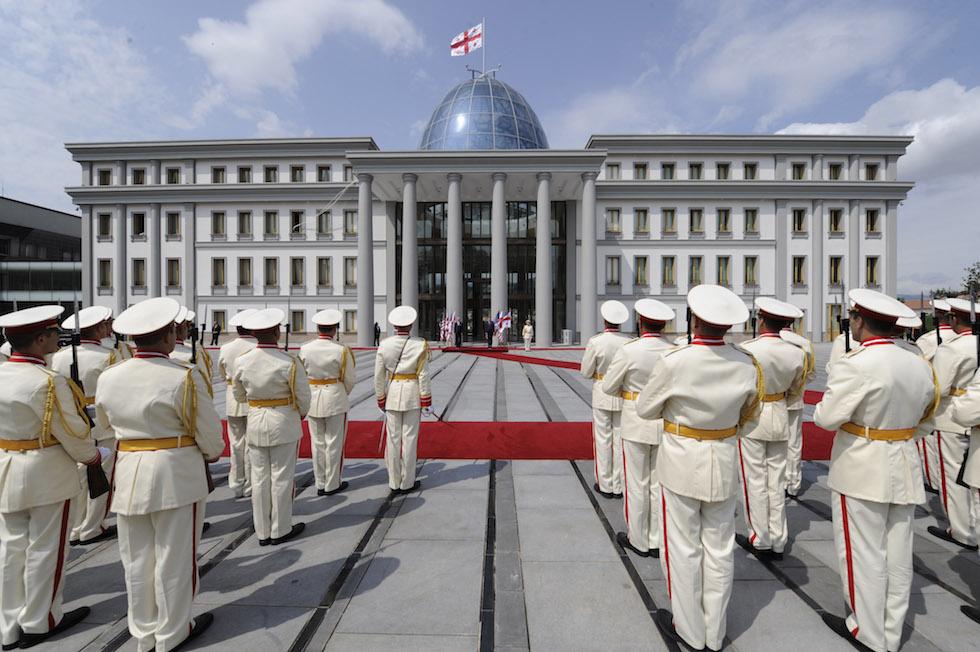palazzo presidenziale tbilisi