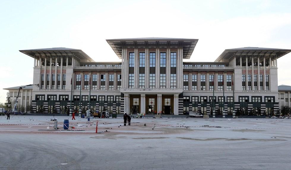 palazzo presidenziale turchia