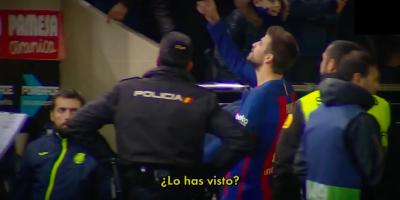 Il Barcellona litiga molto con gli arbitri