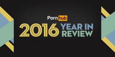 Il 2016 di Pornhub