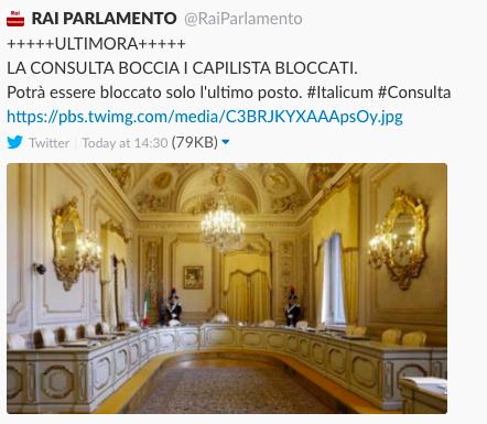Rai parlamento ha visto il futuro dell 39 italicum flashes for Parlamento rai