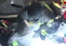 Altre quattro persone salvate dall'Hotel Rigopiano