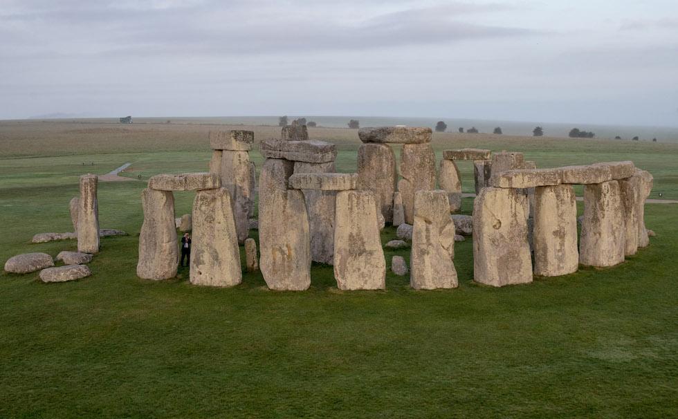 Aerial Views Of Stonehenge