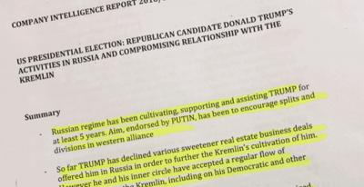 Il dossier su Trump e la Russia