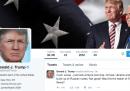 Trump continuerà a usare il suo account Twitter anche da presidente