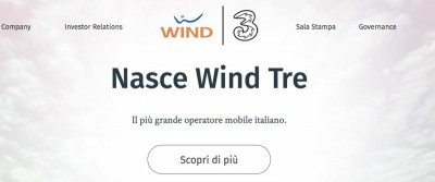 La compagnia telefonica Wind Tre è diventata proprietà al 100 per cento della famiglia cinese Li