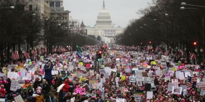 Le foto delle Women's March negli Stati Uniti
