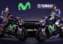 Le foto della nuova Yamaha di Valentino Rossi