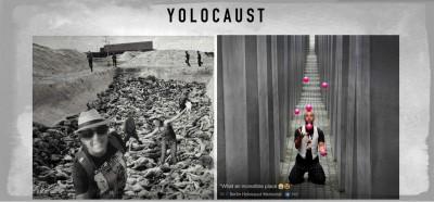 Il sito che se la prende con chi si fa i selfie al Memoriale dell'Olocausto