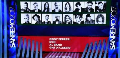 Sanremo 2017, gli ospiti e gli artisti della finale di stasera