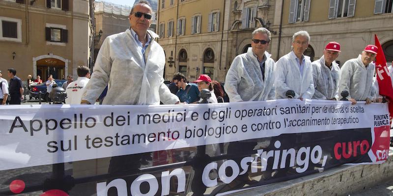BIOTESTAMENTO: MEDICI,FAZIO CHIEDA CSS PARERE ALIMENTAZIONE