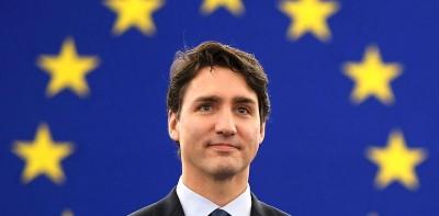 Il video del discorso di Justin Trudeau al Parlamento Europeo