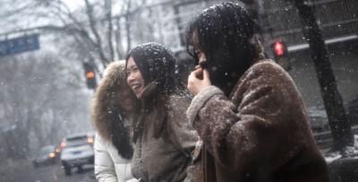 La prima neve a Pechino
