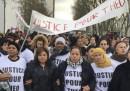 Le proteste per lo stupro di