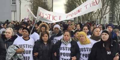 """Le proteste per lo stupro di """"Théo"""", a Parigi"""