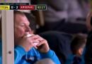 Il portiere che ha mangiato un panino durante Sutton-Arsenal ora è sotto indagine