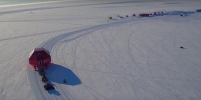 Come si sposta una stazione di ricerca nell'Antartide