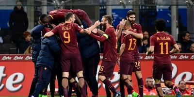 La Roma ha vinto 3-1 contro l'Inter