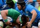 L'Italia di rugby ha perso contro l'Irlanda