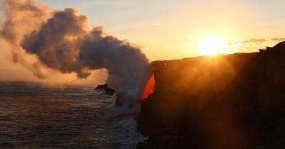 È finito lo spettacolare getto di lava alle Hawaii