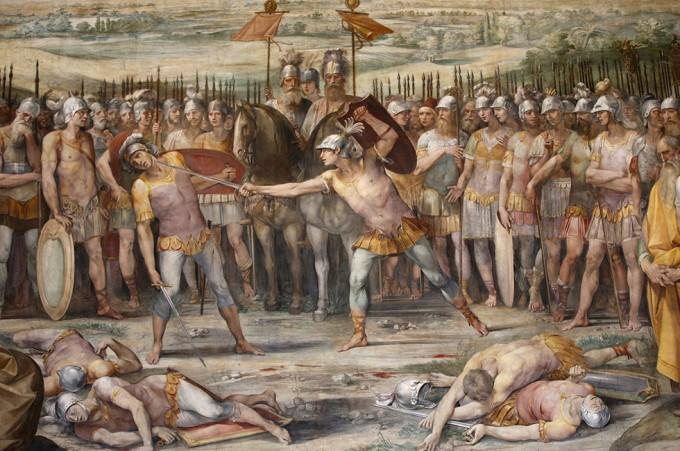 Roma, restauro della sala Orazi e Curiazi ai Musei Capitolini